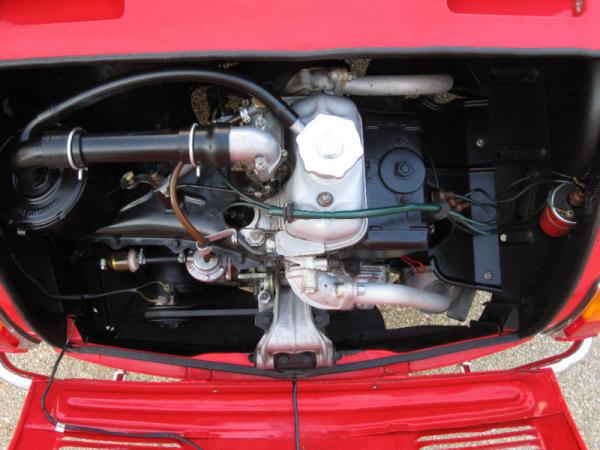 1966 Fiat Vignale Gamine Engine