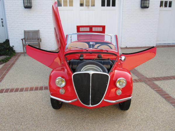 1966 Fiat Vignale Gamine Front