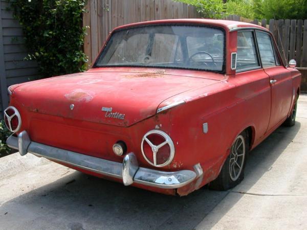 1966 Ford Cortina Gt Rear Corner