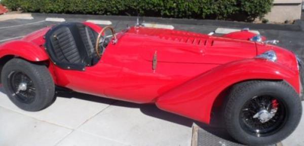 1966 Jaguar Kougar Front Corner