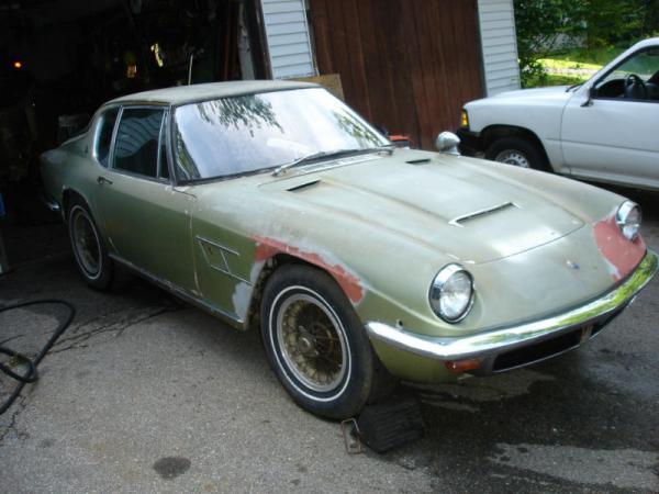 1966 Maserati Mistral Front Corner