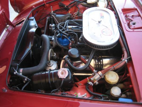 1966 Sunbeam Tiger Engine