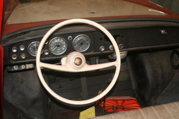 1967 Amphicar 770 Project Dash