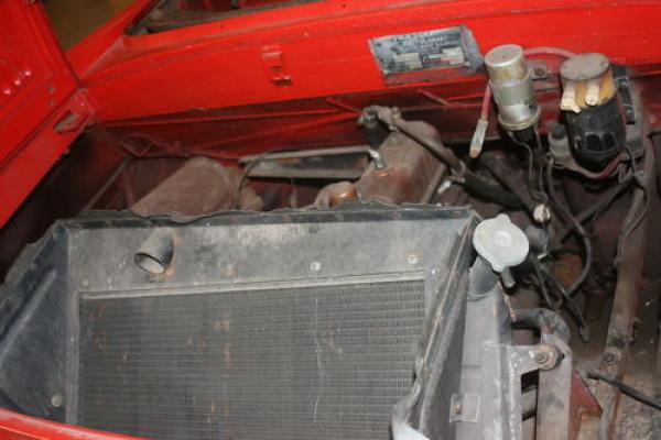 1967 Amphicar 770 Project Engine