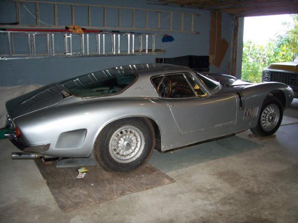 1967 Bizzarrini 5300 Gt Strada Garage Find Side