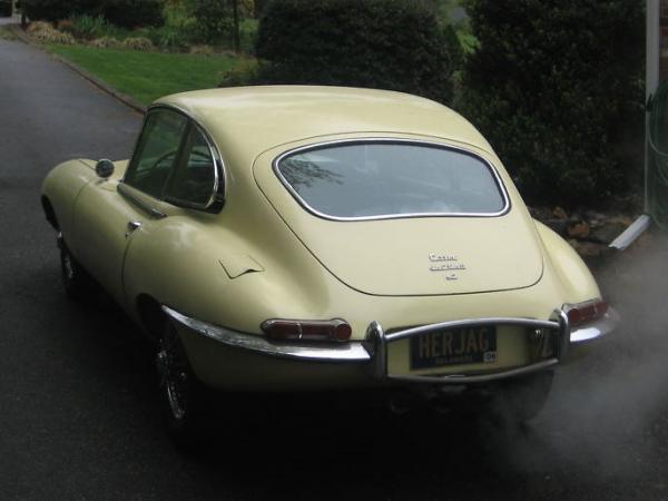 1967 Jaguar E Type Rear