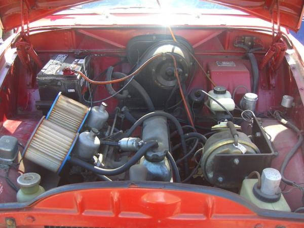 1967 Vovlo 122s Engine