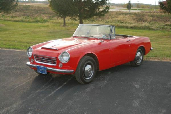1967 Datsun Sports Spl311 Front Corner