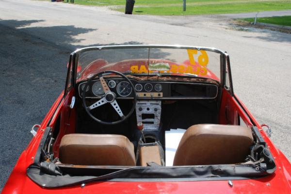 1967 Datsun Sports Spl311 Interior