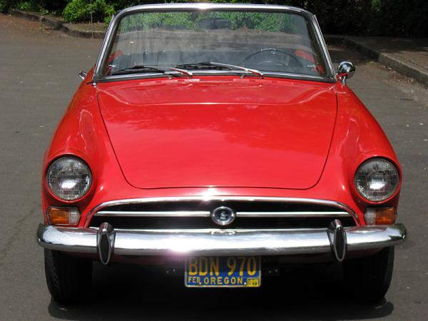 1967 Sunbeam Alpine Front