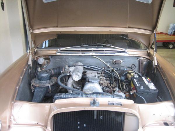 1968 Mercedes Benz 200d Estate Engine