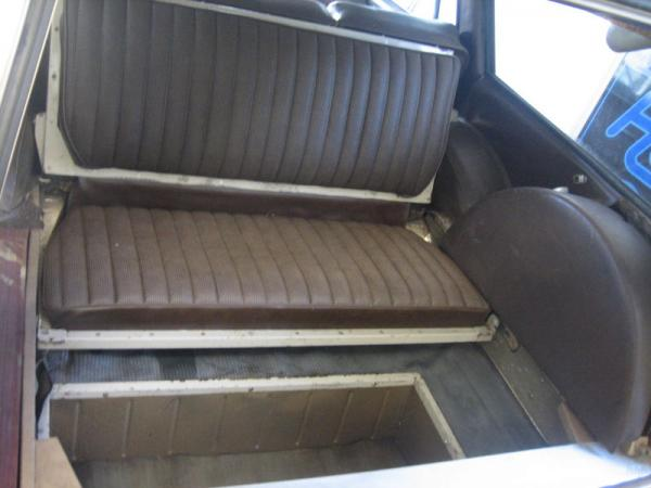 1968 Mercedes Benz 200d Estate Jump Seat