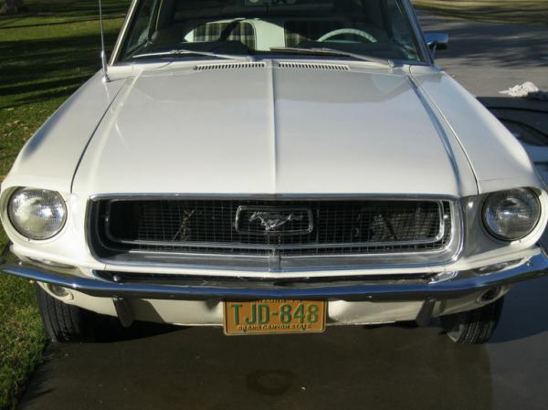 1968 Mustang Garage Find Grill