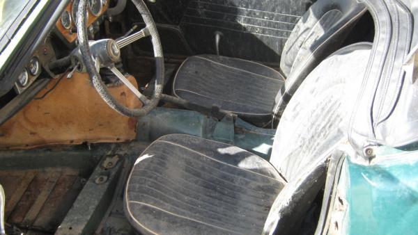 1968 Triumph Spitfire Interior