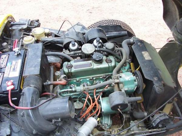 1968 Arkley Ss Engine