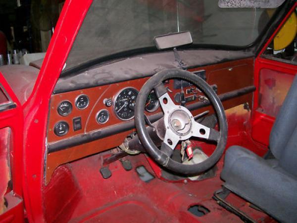 1968 Austin Mini 1000 Interior