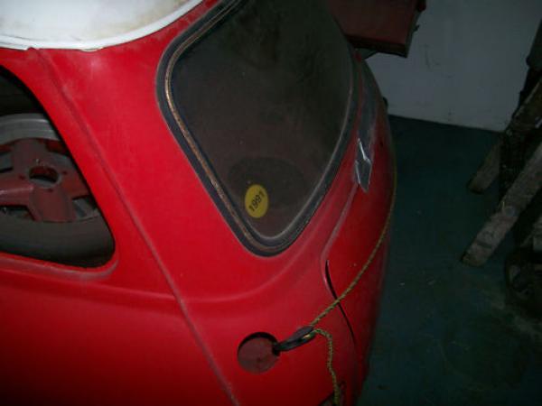 1968 Austin Mini 1000 Rear Corner