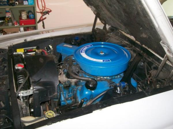 1968 Ford Cougar Convertible Engine