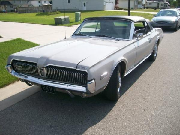 1968 Ford Cougar Convertible Front Corner