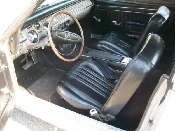 1968 Ford Cougar Convertible Interior