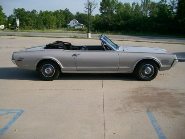 1968 Ford Cougar Convertible Side
