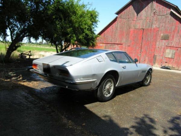 1968 Maserati Ghibli Coupe Rear Corner