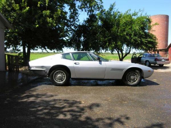1968 Maserati Ghibli Coupe Side