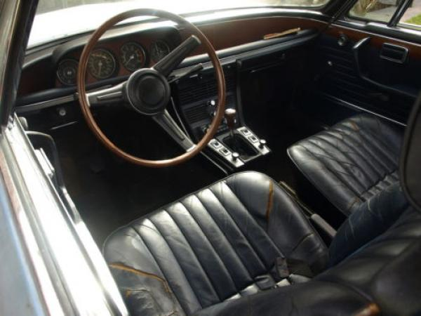 1969 Bmw 2800cs Project Interior