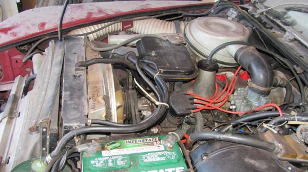 1969 Citroen Ds Garage Find Engine