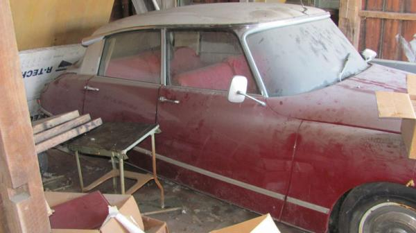 1969 Citroen Ds Garage Find Side