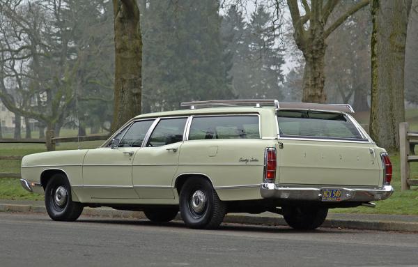 1969 Ford Country Sedan Wagon Rear