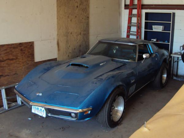 1969 Motion Corvette Warehouse Find Side