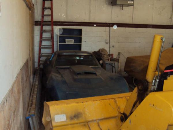 1969 Motion Corvette Warehouse Find