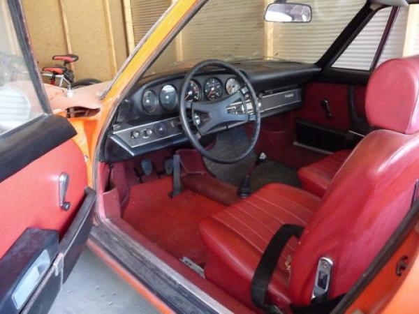 1969 Porsche 911 T Interior