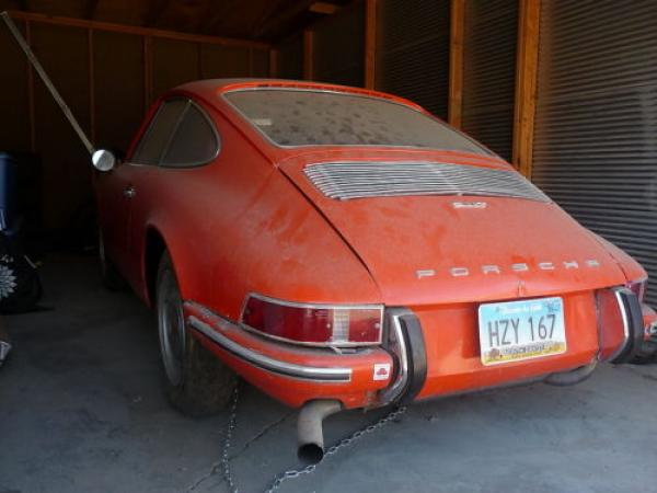 1969 Porsche 911 T Rear
