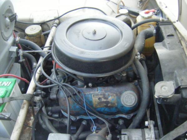 1969 Saab 96 Survivor Engine