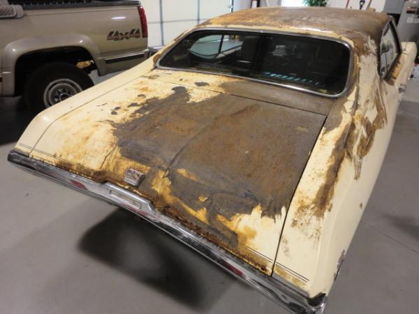1969 Buick Skylark Gs Stage1 Rear Corner