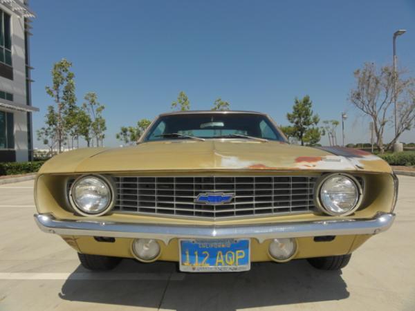 1969 Chevrolet Camero Front