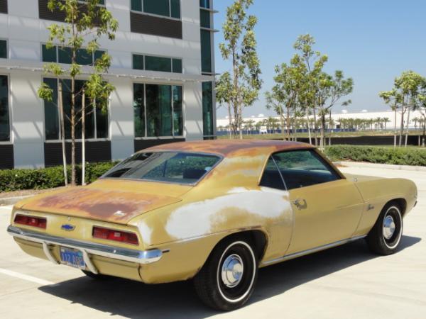 1969 Chevrolet Camero Rear Corner