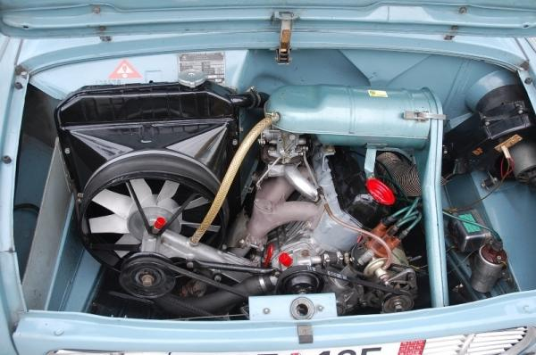 1969 Skoda 1000mb Engine