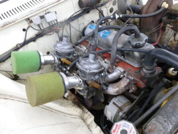 1969 Volvo 142s Engine