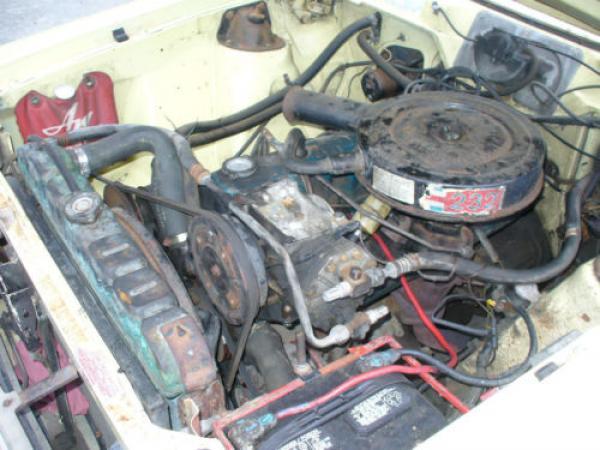 1970 Amc Gremlin Engine