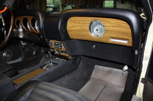 1970 Ford Mustang Mach 1 Interior