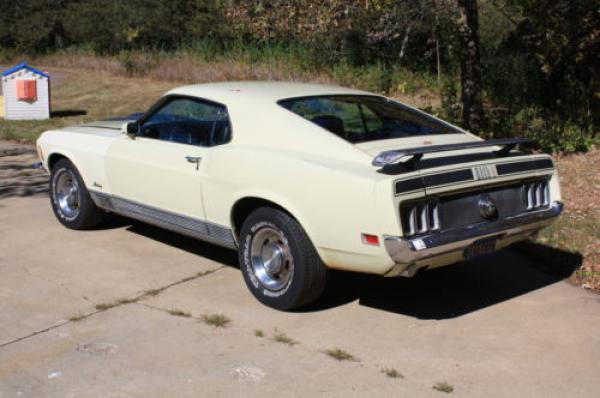 1970 Ford Mustang Mach 1 Rear Corner
