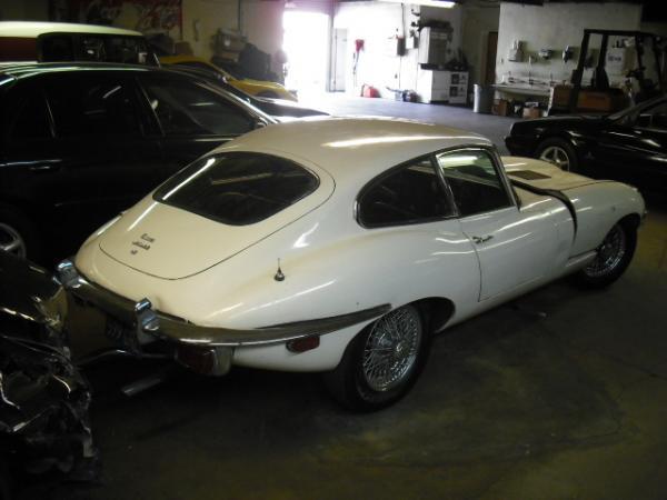 1970 Jaguar E Type Survivor Rear