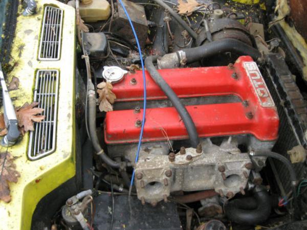 1970 Lotus Elan Plus 2 Engine