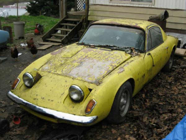 1970 Lotus Elan Plus 2 Front