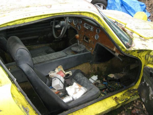 1970 Lotus Elan Plus 2 Interior