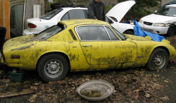1970 Lotus Elan Plus 2 Side