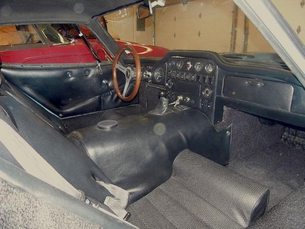 1970 Marcos Gt Interior
